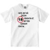 Tréfás póló 18 éves (L)