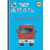 Móra Kiadó A járművek - Matricás foglalkoztatókönyv
