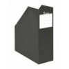Iratpapucs, karton, 90 mm, Premium, fekete
