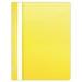 Gyorsfűző, lefűzhető, PVC, A4, DONAU, citromsárga (10db)