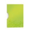 Leitz Gyorsfűzo, klippes, PP, A4, LEITZ Wow ColorClip zöld