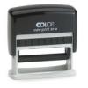 COLOP Bélyegző, COLOP S 110, fekete párnával