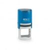 COLOP Bélyegző, kör, COLOP Printer R 30, kék cserepárnával