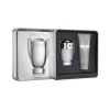 Paco Rabanne Invictus férfi parfüm Set (Ajándék szett) (eau de toilette) edt 100ml + 100ml travel tusfürdő