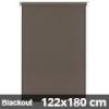 Blackout roló, narancs, mokka: 122x180 cm