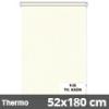 Hőszigetelő roló, Thermo, krém, ablakra: 52x180 cm