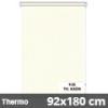 Hőszigetelő roló, Thermo, krém, ablakra: 92x180 cm