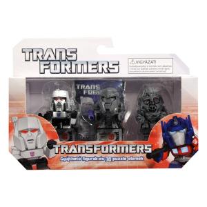 Transformers: Gyűjthető figurák és 3D puzzle elemek - 3 darabos 1