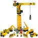 Bigjigs Nagy sárga daru építkezési szett
