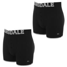 Lonsdale 2 Pack Boxers fér.