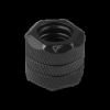 Nanoxia CF1 Fitting - CF1 Fitting - merev csõ adapter - egyenes - 2 x 12 mm