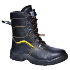 Portwest - FW05 Steelite szőrmebéléses védőbakancs S3 (FEKETE 45)