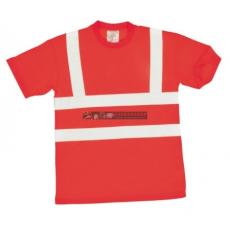 Portwest S478 Jól láthatósági póló (PIROS XXL)