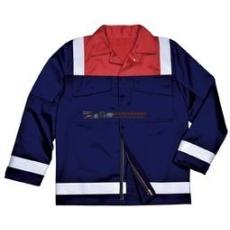 Portwest FR55 Antisztatikus kéttónusú kabát (NARANCS, XXXL)