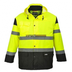 JCB JC61 HIGH VISIBILITY PARKA JACKET S