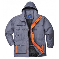 Portwest - TX30 Texo Contrast kabát (SZÜRKE S)