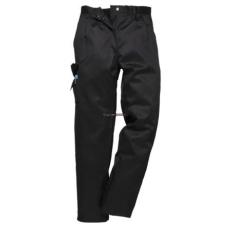 Portwest C099 Női Combat nadrág (Fekete, M, Hosszított)