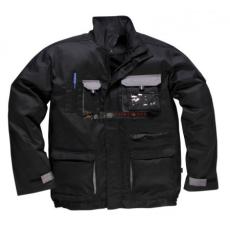 Portwest TX10 Texo Kontraszt dzseki (FEKETE XL)