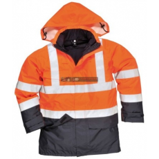 Portwest S779 HiVis multi-Protection kabát (NARANCS/NAVY L)
