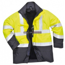 Portwest S779 HiVis multi-Protection kabát (SÁRGA/NAVY XL)