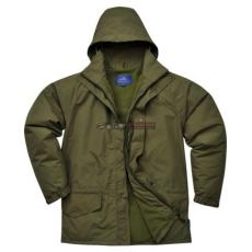 Portwest S530 Arbroath lélegző polár béléses kabát (ERDŐZÖLD L)