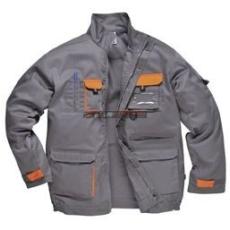 Portwest TX10 Texo Kontraszt dzseki (SZÜRKE M)