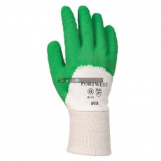 Portwest A171 Latex mártott kesztyű nyitott kézháttal (XXL)