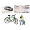 Stiefel Könyökalátét, kétoldalas, A3, STIEFEL Kerékpáros túlélés tízparancsolata (VTKA301)