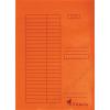 VICTORIA Gyorsfűző, karton, A4, VICTORIA, narancs (IDPGY08)