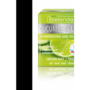 Bielenda uborka-lime nappali-éjszakai krém