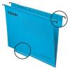 """ESSELTE Függőmappa, újrahasznosított karton, A4,  """"Classic"""", kék"""