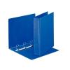 ESSELTE Gyűrűs könyv, panorámás, 4 gyűrű, D alakú, 65 mm, A4, PP/PP, , kék