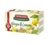 TEEKANNE gyömbér-citrom tea - 20 filter tea