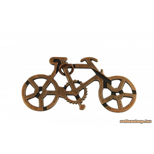 Riviera games RG Kerékpárral a Föld körül fém ördöglakat