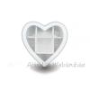 Teásdoboz szív 7 fakkos 20cm - RMD-2233