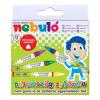 Nebulo Zsírkréta, háromszögletű, 12 darabos, NEBULÓ