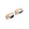 DELOCK Adapter Null Modem Sub-D 9 pin male / female 65255