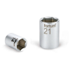 "Fortum Dugófej, 1/4"", 9mm, 61CrV5, mattkróm, 25mm hosszú (Dugófej)"