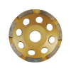 Extol Gyémántcsiszoló korong; 125mm×22,2mm, egysoros (Gyémántcsiszoló korong)