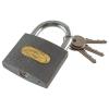 Extol Lakat, vas, 3 kulccsal, dobozban ; 32mm (Lakat)