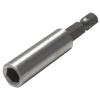 egyéb Bittartó szár fúrógéphez, mágneses ; 60mm, rozsdamentes acél / CV., bliszteren (Bit)