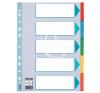 """ESSELTE Regiszter, karton, A4, 5 részes, írható előlappal, ESSELTE """"Standard"""", színes kreatív papír"""