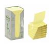 """3M POSTIT Öntapadó jegyzettömb, """"Z"""", 76x76 mm, 100 lap, környezetbarát, 3M POSTIT, sárga jegyzettömb"""