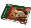 """Trefl Puzzle játék, 260 db-os TREFL """"Cica alszik"""" puzzle, kirakós"""