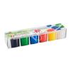 """ICO Tempera készlet, tégelyes, ICO """"Süni"""", 6 különböző szín"""