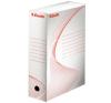 "ESSELTE Archiváló doboz, A4, 100 mm, karton, ESSELTE ""Standard"", fehér kreatív papír"
