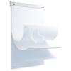 """ROCADA Flipchart papír tartó, 63x8,5 cm, 20 lap papírral, ROCADA """"SkinBoard"""""""