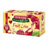 "TEEKANNE Gyümölcstea, 20x2,5 g, TEEKANNE ""Fruit love"", vanília-málna"