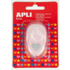 """APLI Mintalyukasztó, szív, 16mm, APLI """"Creative"""", rózsaszín"""