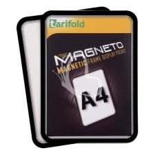 """TARIFOLD Mágneses tasak, mágneses háttal, A4, TARIFOLD """"Magneto"""", fekete táblamágnes"""